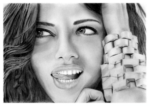 Adriana Lima by E.E.N.